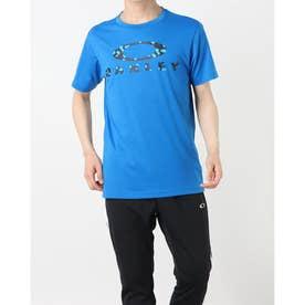 メンズ 半袖機能Tシャツ ENHANCE QD SS TEE O BARK 11.0 FOA402420 (ブルー)