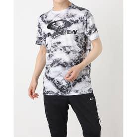 メンズ 半袖機能Tシャツ ENHANCE QD SS TEE GRAPHIC 11.0 FOA402423 (ホワイト)