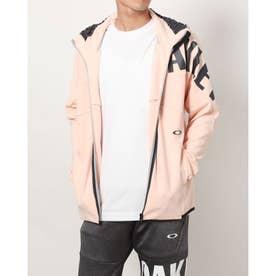 メンズ ニットジャケット ENHANCE 3RDG SYNCHRONISM JKT 4.7 FOA402877 (ピンク)