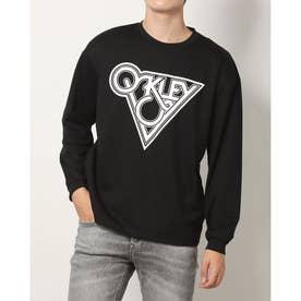 メンズ 長袖Tシャツ BORDERLESS L/S TEE FOA403189 (ブラック)