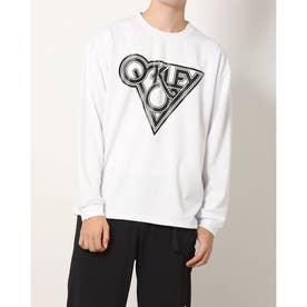 メンズ 長袖Tシャツ BORDERLESS L/S TEE FOA403189 (ホワイト)