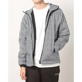メンズ ウインドジャケット ENHANCE WIND WARM GRAPH JKT 10.7 FOA401602 (グレー)