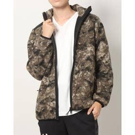 メンズ フリースジャケット ENHANCE FGL BOA JACKET 1.7 FOA402977 (ブラウン)