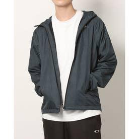 メンズ ウインドジャケット ENHANCE WIND WARM GRAPH JKT 10.7 FOA401602 (ネイビー)