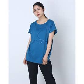 レディース 半袖機能Tシャツ RADIANT TENDER TUNIC FOA500160 (ブルー)