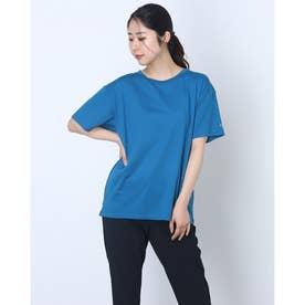レディース 半袖機能Tシャツ RADIANT TENDER OFF BODY TEE FOA500161 (ブルー)