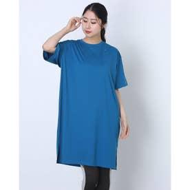 レディース 半袖機能Tシャツ RADIANT TENDER ONE-PIECE FOA500159 (ブルー)