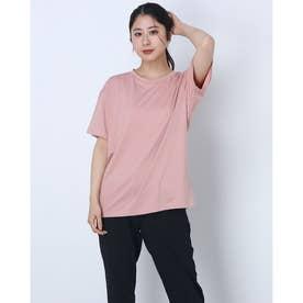レディース 半袖機能Tシャツ RADIANT TENDER OFF BODY TEE FOA500161 (ピンク)