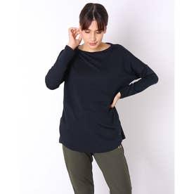レディース 長袖機能Tシャツ RADIANT TENDER DOLMAN L/S TEE 2.0 FOA500223 (ブラック)