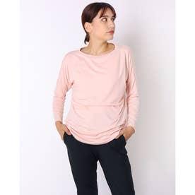 レディース 長袖機能Tシャツ RADIANT TENDER DOLMAN L/S TEE 2.0 FOA500223 (ピンク)