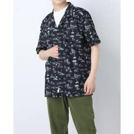 ハンソデ UVシャツ (BLK)