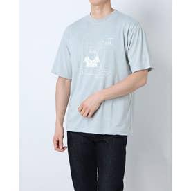 ハンソデ Tシャツ (GRY)