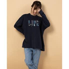 ナガソデ Tシャツ (NVY)