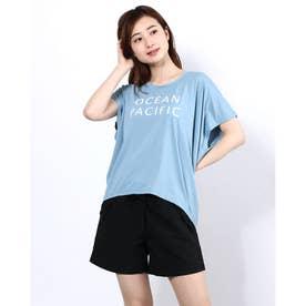ハンソデ UVTシャツ (BLU)