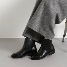 ODETTE E ODILE 【WEB限定】O カバードゴア ショートブーツ35●↑ (BLACK)