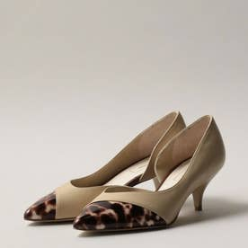 ODETTE E ODILE OID アシンメトリーカット パンプス55↓↑ (BEIGE)