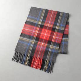 ODETTE E ODILE SCOTTISH TRADITION WOVEN SCARF (RED)