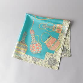 ODETTE E ODILE manipuri スカーフ65 (TURQUOISE)