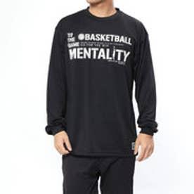 バスケットボール 長袖Tシャツ ボールライン 長袖Tシャツ BT-6052