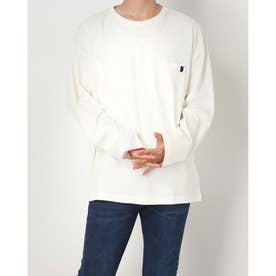 長袖Tシャツ (オフホワイト)