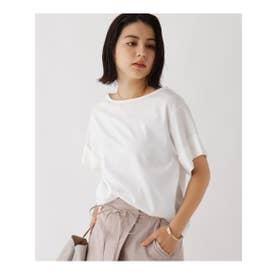 オーガニックコットン スムースボクシーTシャツ (ホワイト)