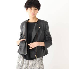 バルトロッシ エコレザー ライダースジャケット【WEB限定サイズあり】 (ブラック)