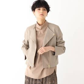 バルトロッシ エコレザー ライダースジャケット【WEB限定サイズ】 (サンドベージュ)