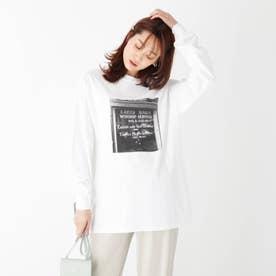 GOOD ROCK SPEED別注 ゴドリスフォトTシャツ (ホワイト×モノクロ)