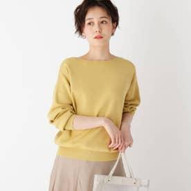 【エマール検証済】Lux organic cotton ボートネックニット (マスタード)