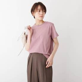 スペシャルコットン 天竺クルーネックTシャツ (ピンク)