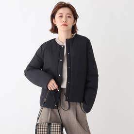 【ミュラーダウン】ノーカラー2wayショートジャケット【WEB限定カラー・サイズ】 (ブラック)