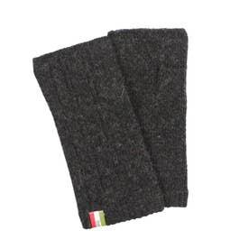 紳士 ニット手袋 (チャコール)