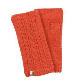 紳士 ニット手袋 (オレンジ)