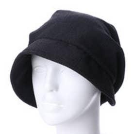 女優帽 (ブラック)