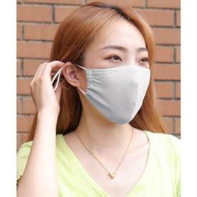 【ネット限定】涼快抗菌マスク (グレー)【返品不可商品】