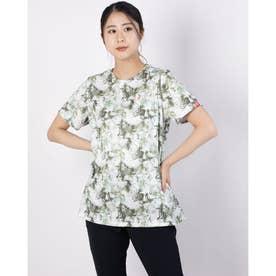 トロピカルプリントTシャツ (ボタニカル)