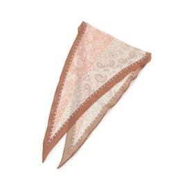ペイズリーナロースカーフ (ピンク(170))
