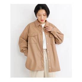 エコレザーCPOジャケット (タバコブラウン(054))
