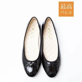 【最高バレエ】ラウンド バレエシューズ (ブラック)