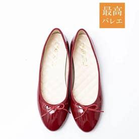 【最高バレエ】ラウンド バレエシューズ (レッド)