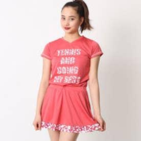 レディース テニス 半袖Tシャツ ゲ-ムシャツ WL7049