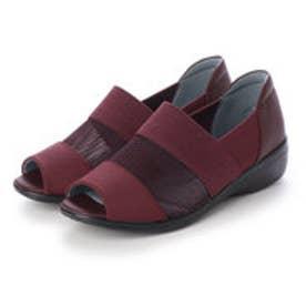 レディース 短靴 婦人オープントゥシューズ PS4482