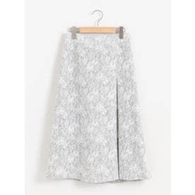 ボンディングレーススカート(ホワイト)