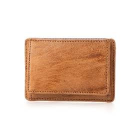 箱小銭付カードケース (ブラウン)