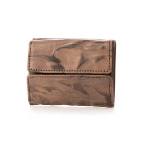 三つ折りミニ財布 (ブラック)