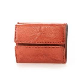三つ折りミニ財布(レッド)