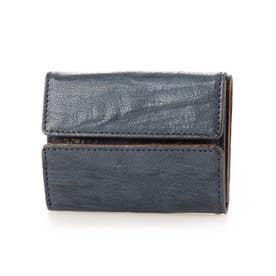 三つ折りミニ財布(ネイビー)