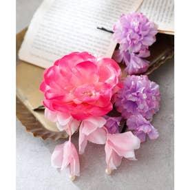 髪飾りセット(20種)浴衣・着物・和装用 (ピンク)