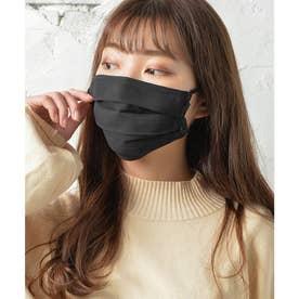 ノーズワイヤー入り肌荒れマスク【返品不可商品】 (ブラック(シフォンタイプ))