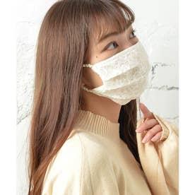 ノーズワイヤー入り肌荒れマスク【返品不可商品】 (オフホワイト(レースタイプ))
